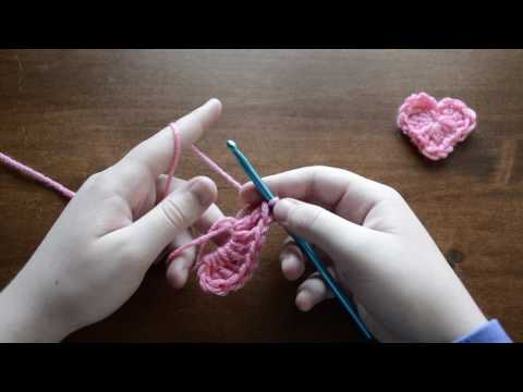 Crochet Heart Tutorial Step by Step for Beginners