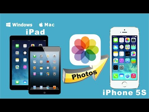 [iPad to iPhone 5S]: Transfer Photos from iPad/iPad Air/iPad Mini With Retina Display to iPhone 5S
