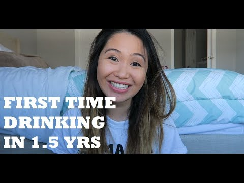 FIRST TIME DRINKING ALCOHOL IN 1.5 YEARS | MOM'S NIGHT OUT