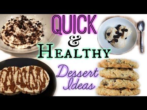 Quick & Healthy Dessert Ideas⎜BeyondBeautyStar