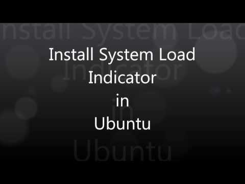 Install System Load Indicator in Ubuntu