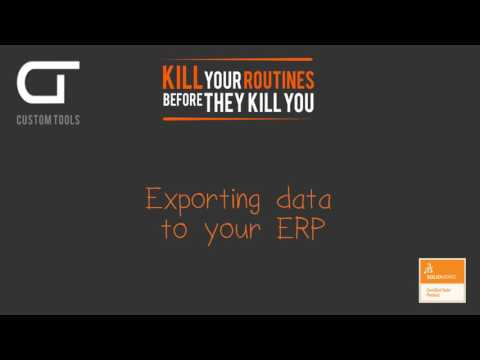 CustomTools: ERP Link