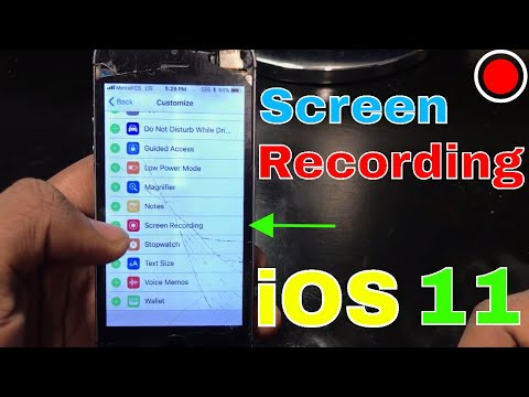 How To Enable Screen Recording On iOS 11 | iOS 11 | Get Fixed
