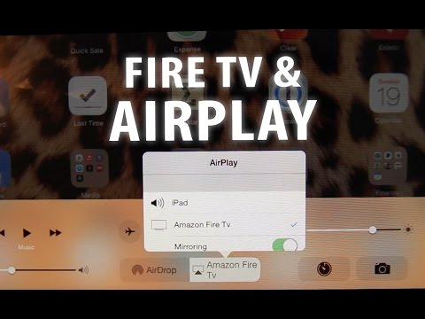 Fire Tv - Enable Airplay