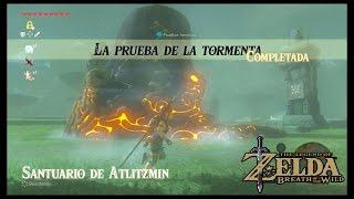 Santuario De Atlitzmini - La Prueba De La Tormenta - Armadura Aislante - Tloz: Breath Of The Wild