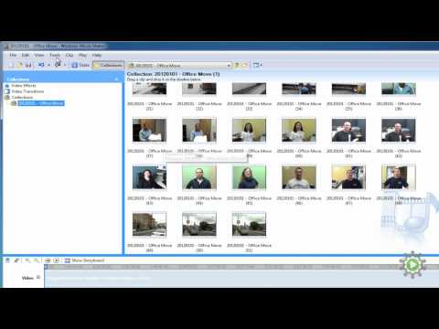 Importing video clips into Windows Movie Maker