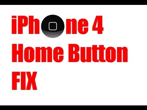 How to fix Home Button - iPhone 4