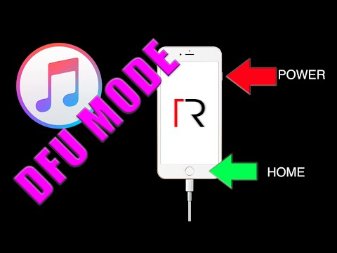 HOW TO ENTER DFU MODE IPHONE, IPOD, IPAD ANY IOS VERSION