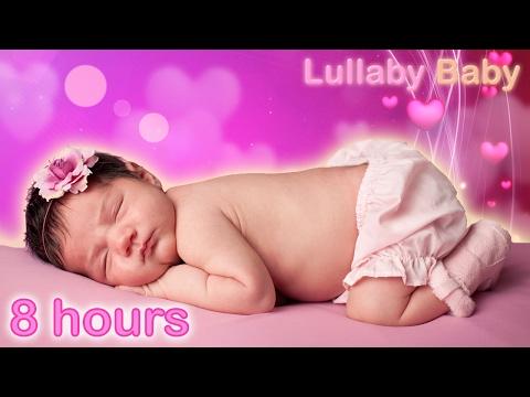 ☆ 8 HOURS ☆ HARP MUSIC ♫ Baby Sleep Music Instrumental Songs ☆ Lullabies for babies to go to sleep