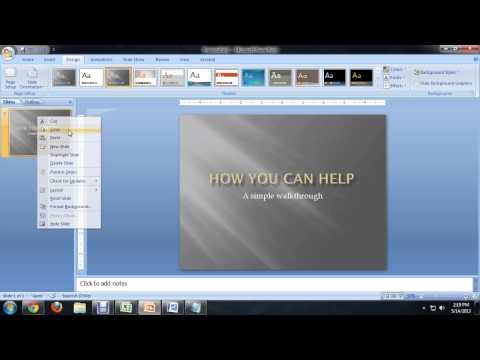 How to Insert a PowerPoint Slide Into Microsoft Word : Tech Niche