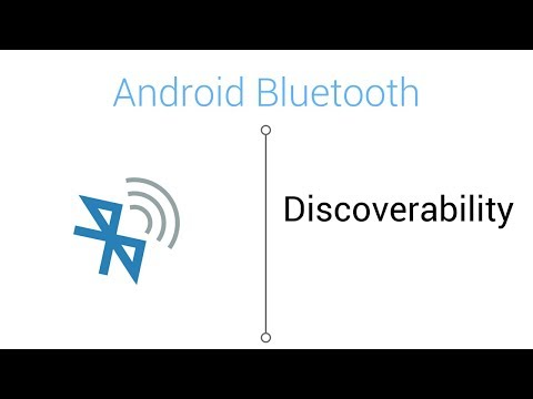 Bluetooth Tutorial - Bluetooth Discoverability in Android Studio