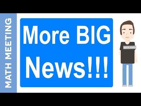 More Big News - Live homework help!