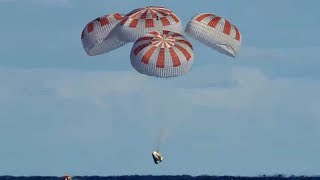 SpaceX Crew Dragon Returns from Space Station