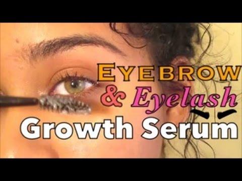 DIY Eyebrow & Eyelash Growth Serum/Gel || Get Thicker Eyebrows