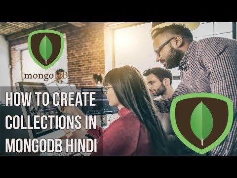 Learn mongodb in Hindi | How to create collections in Mongodb Hindi