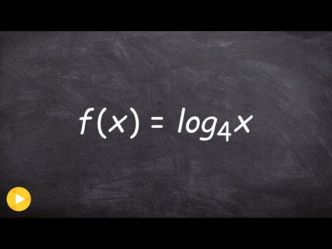 Determining the domain vertical asymptote and x intercept of a logarithm