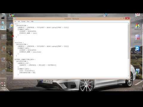 How to resolve the ora 12154 error