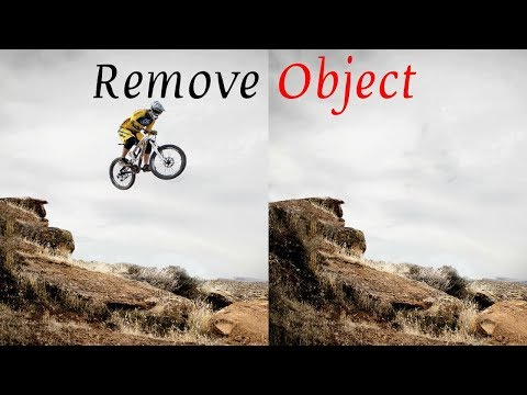 How to remove any object in Photo || Spot Healing Brush Tool || Photo Object Remover