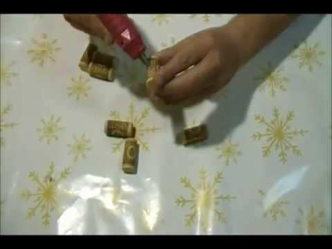 How to make a wine corks coaster