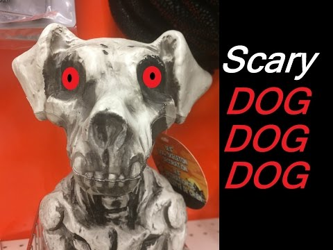 Dog Skeleton Halloween Decorations Ideas Outdoor Scary Party Songs Videos for Kids Children Toddlers