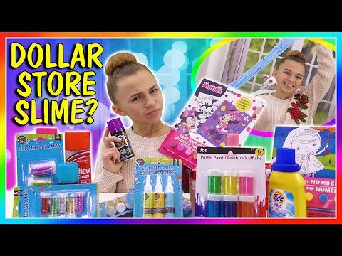 DOLLAR STORE SLIME   PASS OR FAIL?   We Are The Davises