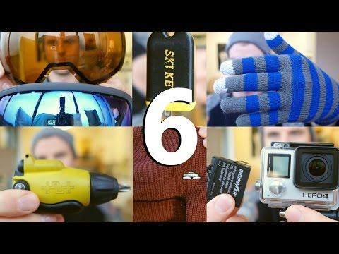 Top 6 Snowboard Accessories