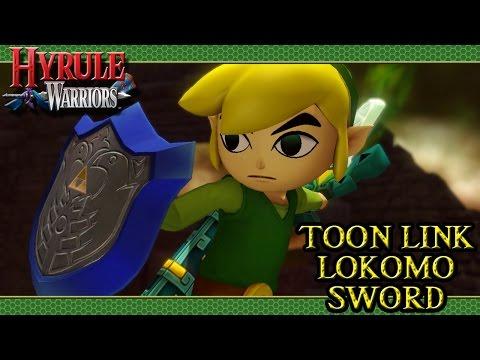 Hyrule Warriors DLC (Toon Link   Lokomo Sword)
