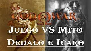 God Of War || Juego Vs Mito || Dédalo E Ícaro