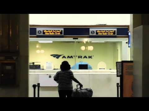 Inside Amtrak Penn Station Downtown Baltimore Maryland 2015
