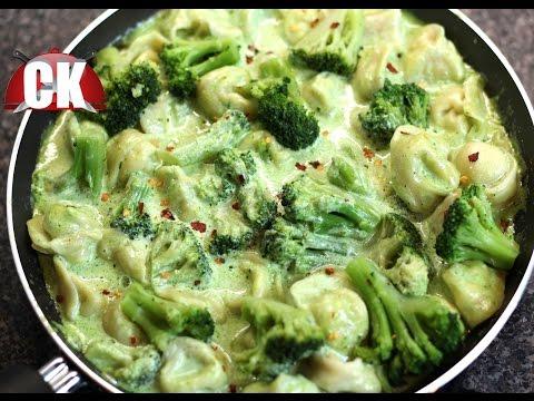 How to make Tortellini in Creamy Pesto Sauce!