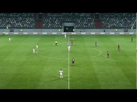 Quick Goal with Team mate control PES 2013