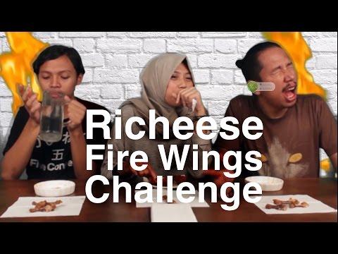Richeese Fire Wings Challenge Lvl. 5 ! - HAL YANG TERPEDES YANG PERNAH GUE MAKAN !
