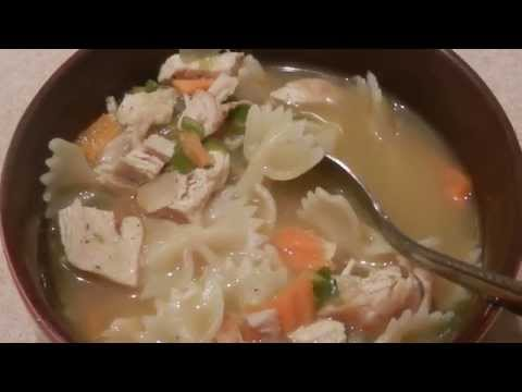 Quick & Easy Homemade Chicken Soup!