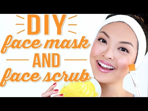 DIY Face Mask + DIY Face Scrub For Healthy Skin!