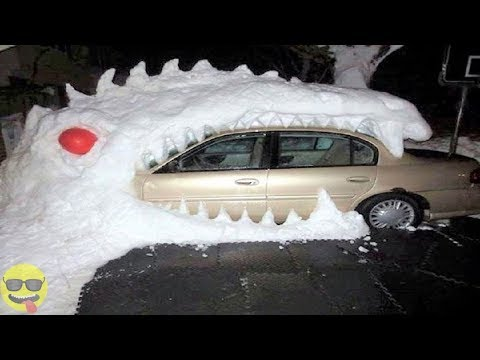 Funny and Creative Things to do in The Snow