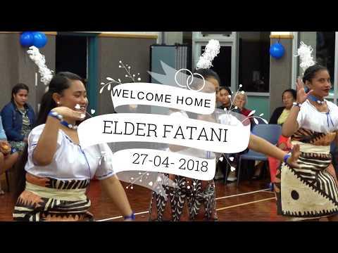 WELCOME BACK ELDER FATANI