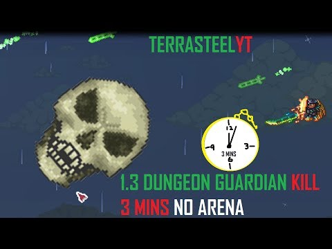 How to Defeat the Dungeon Guardian Easily in 3 Minutes- NO ARENA! | (Impossible Kills #2)