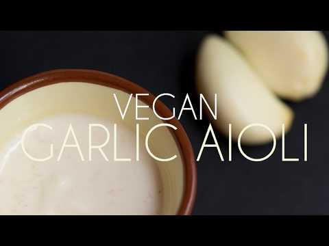 Learn How To Make A Quick and Easy Vegan Garlic Aioli | Rican Vegan