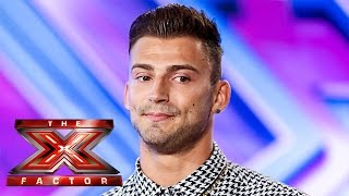 Jake Quickenden sings Say Something and All Of Me | Room Auditions Week 2 | The X Factor UK 2014