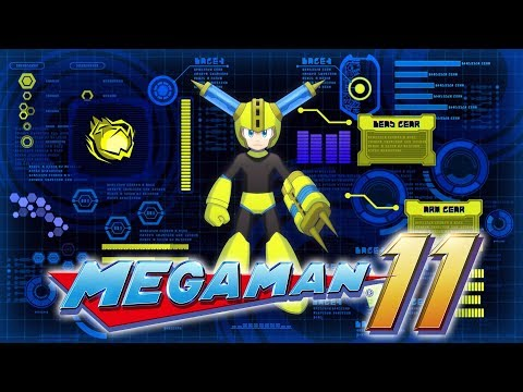 Mega Man 11 - Gameplay Details from PlayStation Blog & PSN Store Preorder Theme