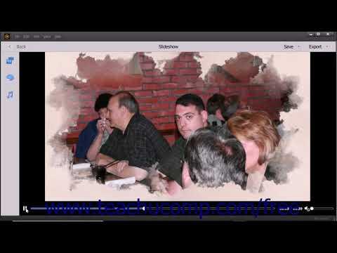 Photoshop Elements 2018 Tutorial Creating a Slide Show Adobe Training