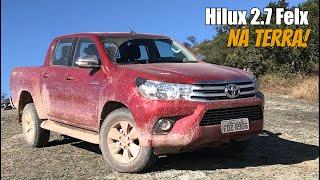 Toyota Hilux 2.7 Flex 2017 na Terra! - Falando de Carro
