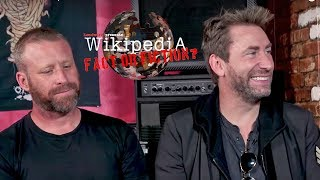 Nickelback - Wikipedia: Fact or Fiction?