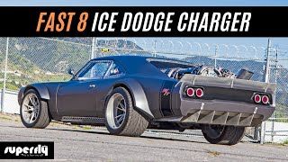 Fast 8 Ice Charger from the Fate of the Furious Movie
