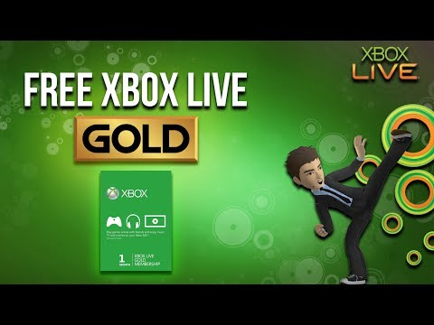 How to Get Free Xbox Live Gold Membership 2018
