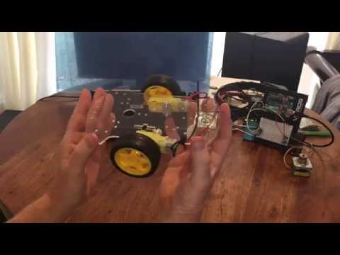 How to design and build your own Arduino Robot Car.