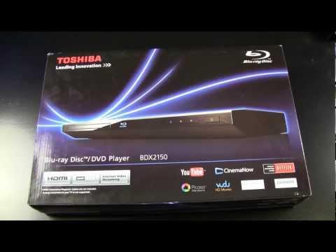 Toshiba Blu-Ray DVD Player BDX2150