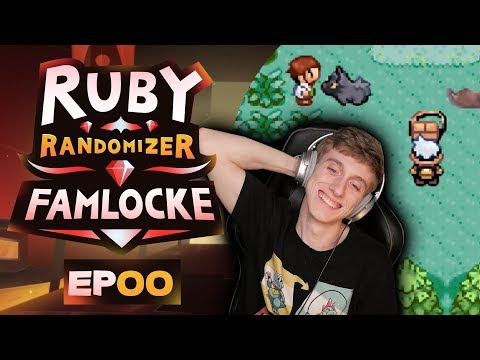 CHOOSE MY STARTER!!! | Pokemon Ruby Randomizer Famlocke EP 0