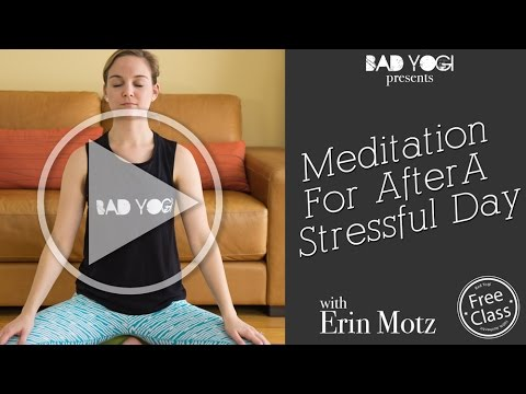 Meditation for After a Stressful workday (Beginner)