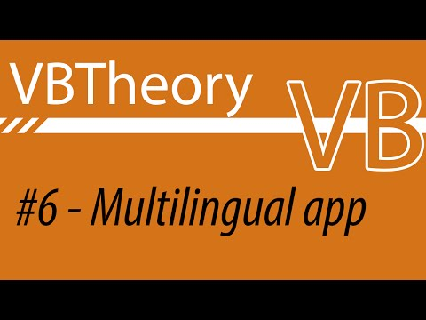 Your Application With Multiple Languages! - VB#6